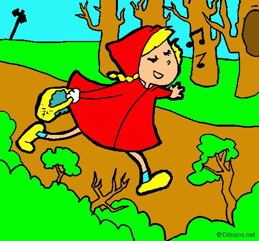 Dibujo De Caperucita Roja 6 Pintado Por Lobo En Dibujos Net El Día 05 03 11 A Las 16 48 53 Imprime Pinta O Colorea Tus Propios Dibujos