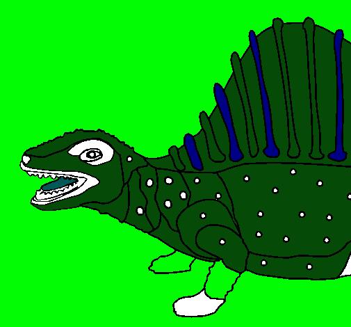Dibujo de Dinosaurio pintado por Jagget en Dibujos.el día 03