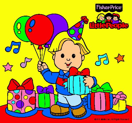 Dibujo De Little People 6 Pintado Por Fisher Price En Dibujosnet El
