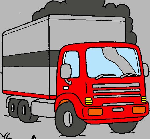 Dibujo De Camión Pintado Por Torton En Dibujos.net El Día