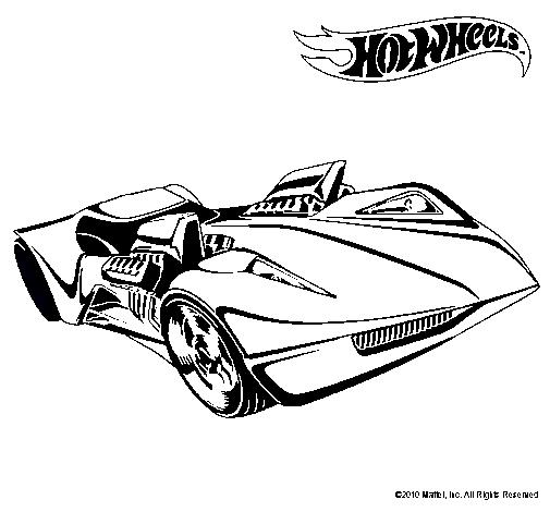 Dibujo de Hot Wheels 4 pintado por 2wee en Dibujos.net el día 15-03 ...