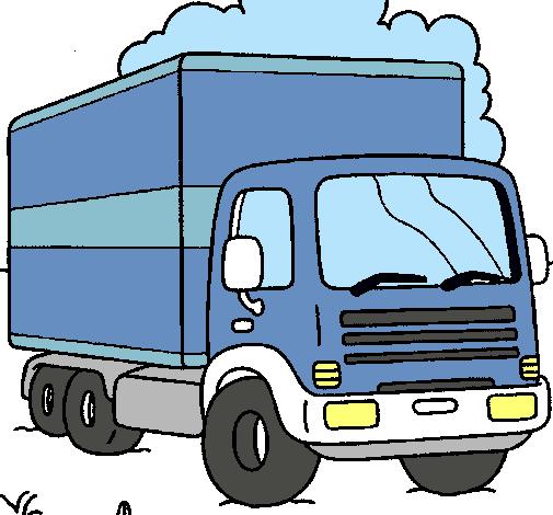 Dibujo De Camión Pintado Por Camion En Dibujos.net El Día