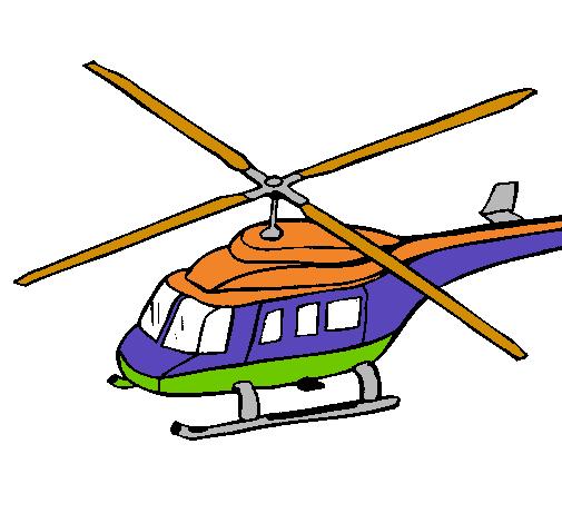Dibujo de Helicóptero pintado por Sandor en Dibujos.net el día 24-03 ...
