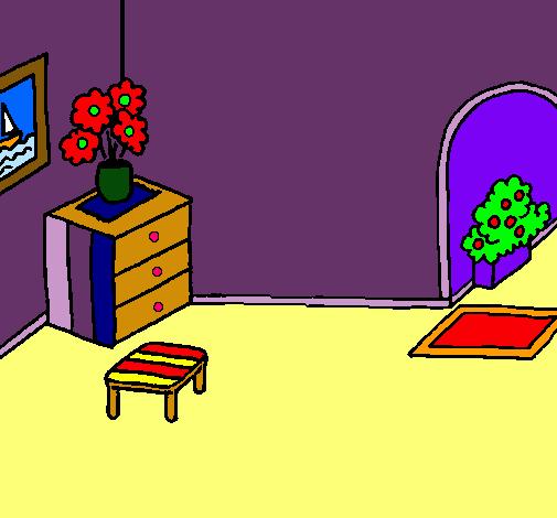 Dibujo De Casa Por Dentro Pintado Por Crisaba En Dibujosnet El Día