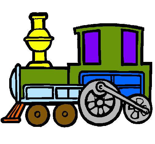 Dibujo De Tren Pintado Por Tren En Dibujosnet El Día 14 04 11 A Las