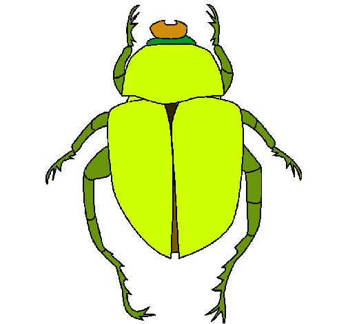 Dibujo De Escarabajo Pintado Por Yoopy En Dibujosnet El Día