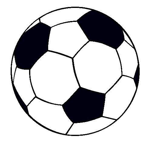 Dibujo de Pelota de fútbol II pintado por Amarillita en Dibujos.net ...