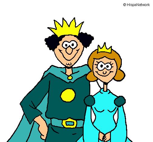 Dibujo De Rey Y Reina Pintado Por Popli En Dibujosnet El Día 08 05