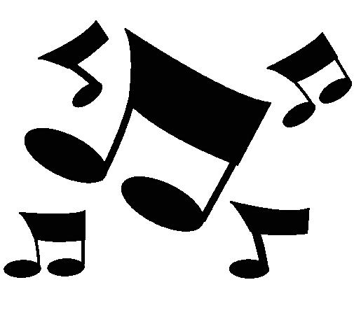 Dibujo De Notas Musicales Pintado Por Musica En Dibujosnet El Día