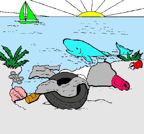 Dibujo De Tierra Contaminada Pintado Por Carlitas En Dibujosnet El