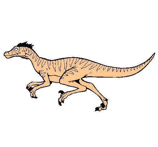 Dibujo de Velociraptor pintado por Dromeosaurio en Dibujos.net el ...