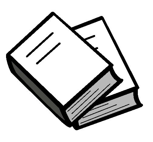 Dibujo De Libros Pintado Por Libro En Dibujosnet El Día 14 06 11 A