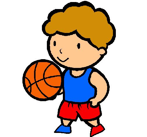 Dibujo De Jugador De Básquet Pintado Por Baloncesto En Dibujosnet