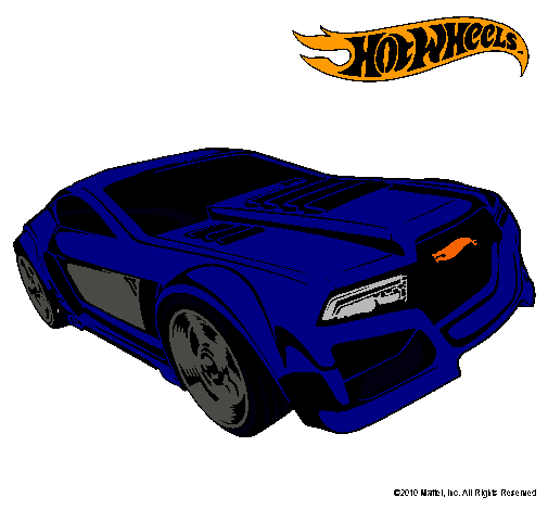 Dibujo De Hot Wheels 5 Pintado Por Mastil En Dibujosnet El