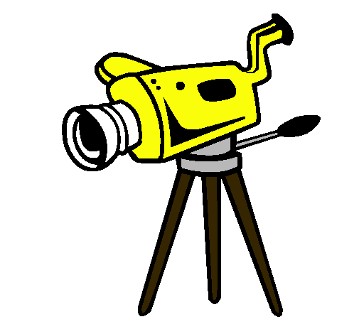 Dibujo de Cámara cinematográfica pintado por Neto en Dibujos.net el ...