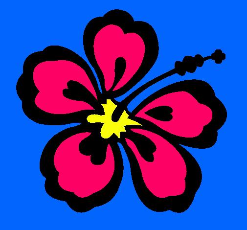 Dibujo De Flor Surfera Pintado Por Tropical En Dibujos Net El Dia 31