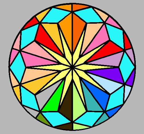 Dibujo de Mandala 42 pintado por Mosaico en Dibujos.net el día 18-08 ...