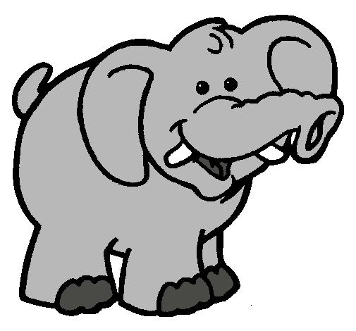 Dibujo De Elefante Pintado Por Maria15 En Dibujosnet El Día 22 08