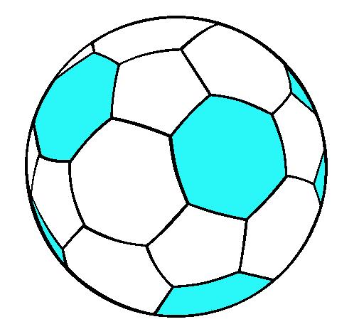 Dibujo de Pelota de fútbol II pintado por July en Dibujos.net el día ...