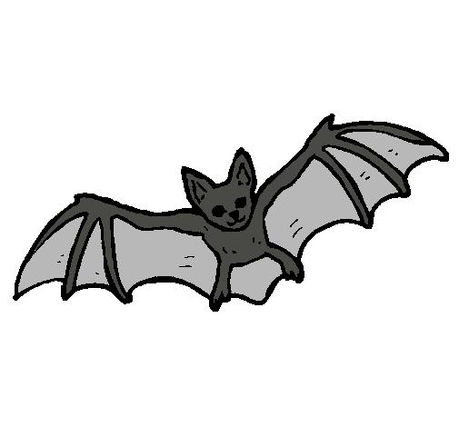 Dibujo De Murciélago Volando Pintado Por Torpi En Dibujosnet El Día