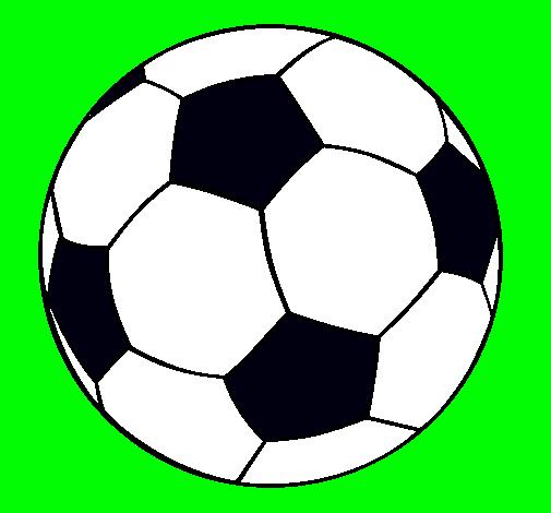 Dibujo de Pelota de fútbol II pintado por Corner en Dibujos.net el ...