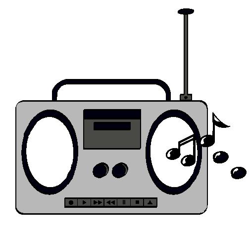 Dibujo De Radio Cassette 2 Pintado Por Danyelaa En Dibujosnet El