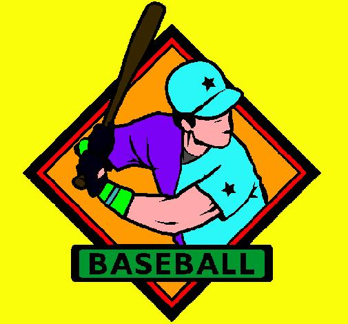 Dibujo De Logo De Beisbol Pintado Por Leirbag En Dibujos Net El