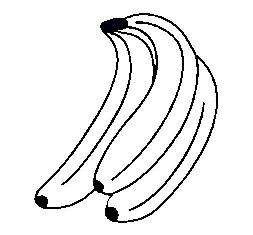 Dibujo de Plátanos pintado por Banana en Dibujos.net el día 24-10-11 ...