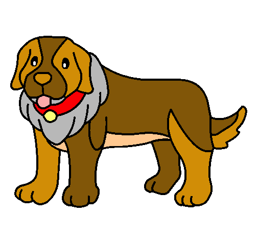 Dibujo De Perro Pigmento Pintado Por Megatron En Dibujosnet