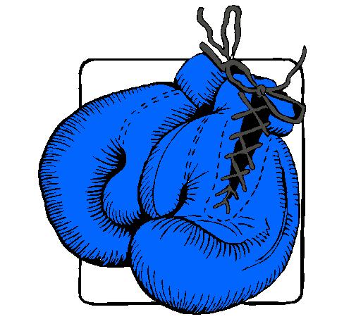 Dibujo De Guantes De Boxeo Pintado Por Natalypm En Dibujos Net El