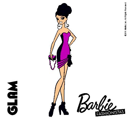 Dibujo de Barbie Fashionista 5 pintado por Gitana en Dibujos.net el ...