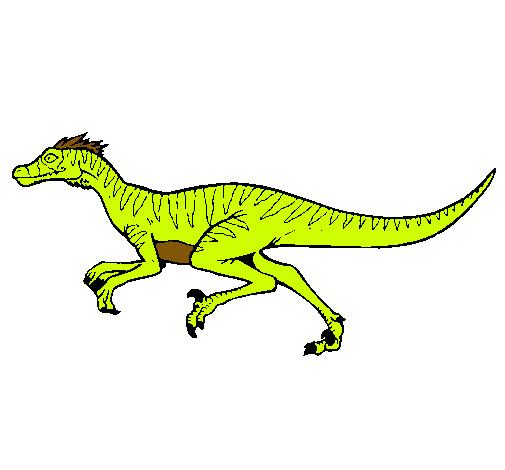 Dibujo de Velociraptor pintado por Grillitio en Dibujos.net el día ...