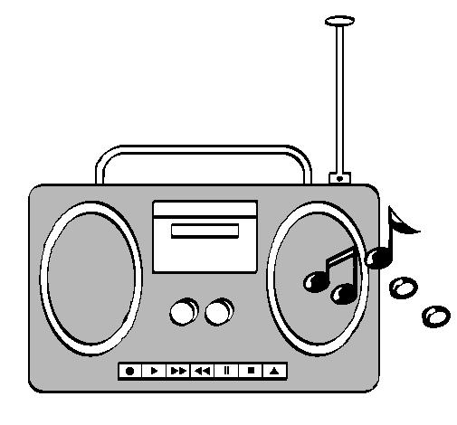Dibujo de Radio cassette 2 pintado por Phjw en Dibujos.net el día 04 ...