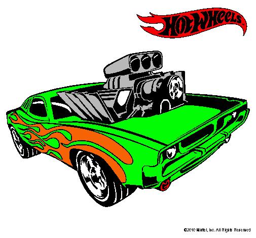 Dibujo De Hot Wheels 11 Pintado Por Chido En Dibujosnet El Día 14