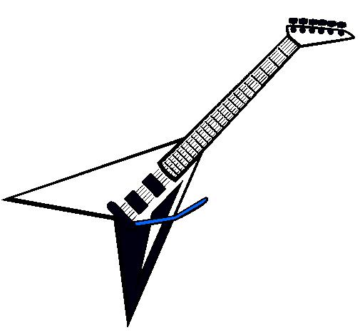 Dibujo de Guitarra eléctrica II pintado por Macho en Dibujos.net el ...