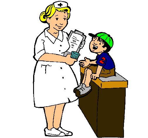 Dibujo De Enfermera Y Niño Pintado Por Mariialejita En Dibujos.net El Día 12-02-12 A Las 15:39