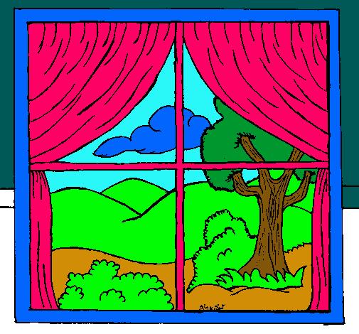 ventana animada para colorear