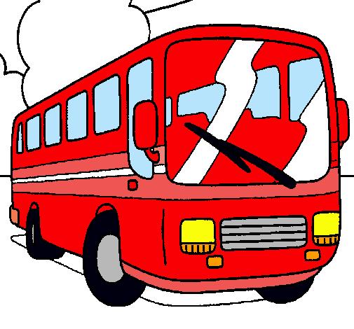 Resultado de imagen de dibujo autobus