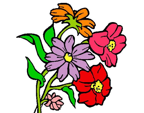 Flores En Dibujo A Color: Dibujo De BeeLLaas Pintado Por Yoselinn En Dibujos.net El