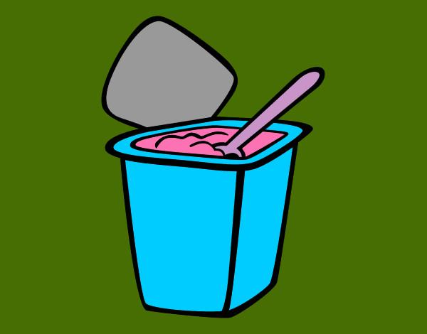 Dibujo De Yogurt Pintado Por Marianiiis En Dibujosnet El