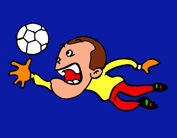 Dibujo De Casillas1 Rafa12 Pintado Por Rafa12 En Dibujosnet