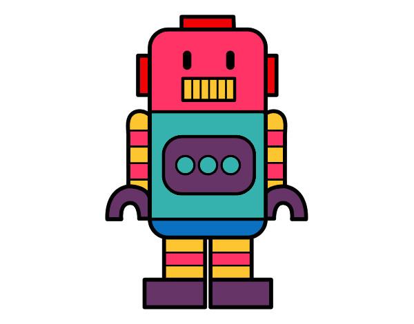 Dibujo De Robot Alto Pintado Por Sofiisi En Dibujosnet El Día 31 03