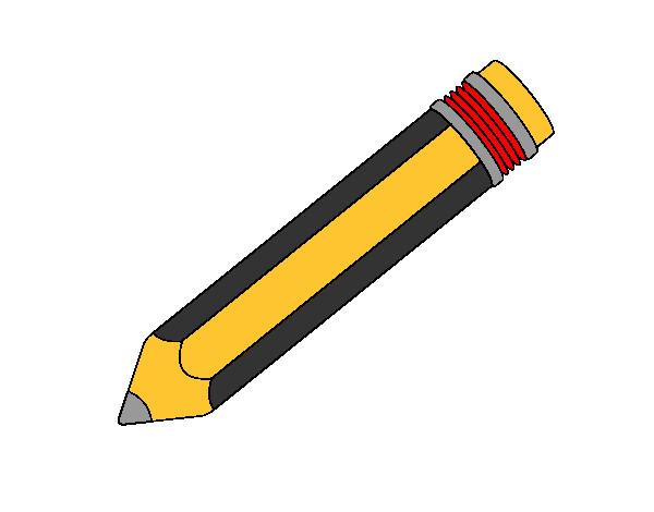 Dibujo De Un Lapiz De Color: Dibujo De Lapiz Pintado Por Danielaes En Dibujos.net El