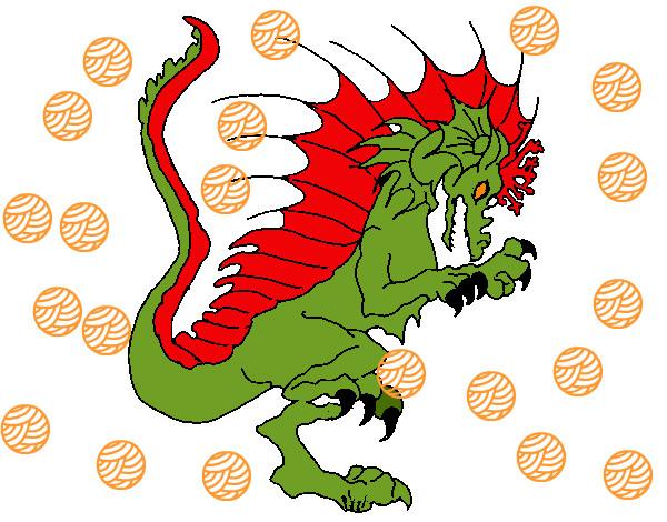 Dibujo De El Dragon Pintado Por Isco En Dibujosnet El Día 30 04 12
