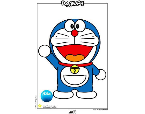Dibujos Para Colorear E Imprimir De Doraemon: Dibujo De Bakan Pintado Por Victor_1_ En Dibujos.net El