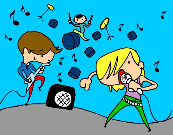Dibujo De Yo Con Mis Amigos Pintado Por Baltazar En Dibujosnet El