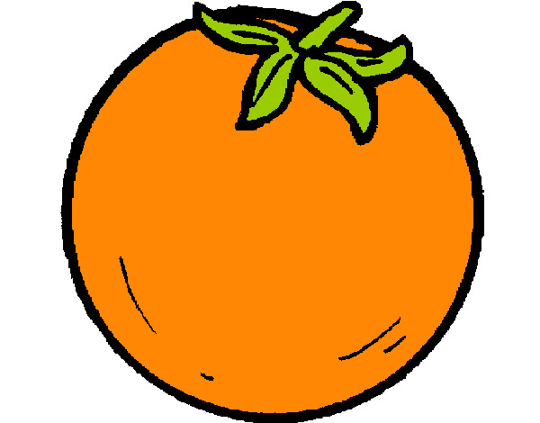 Dibujo De Naranjas Pintado Por Marabriase En Dibujos Net El Dia 23
