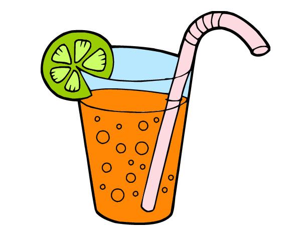 Dibujos De Bebida Para Colorear: Dibujo De Bebida Fria Pintado Por Exa-xula En Dibujos.net