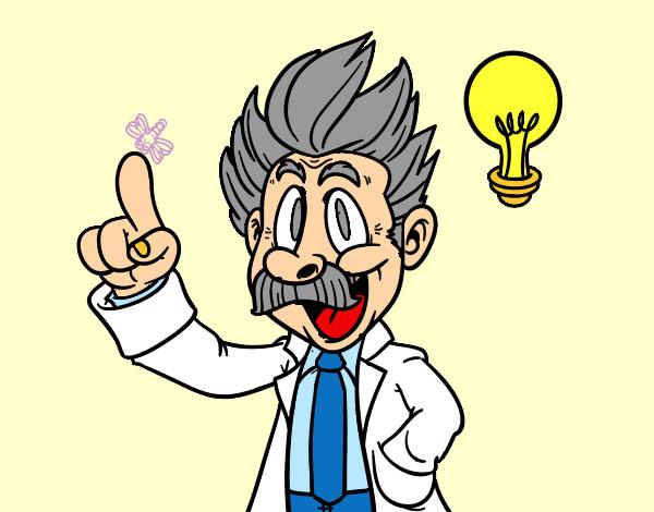 Dibujos De Científicos Para Colorear Dibujosnet