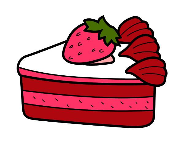 Dibujo De La Fresa Cream Pintado Por Natalin En Dibujos
